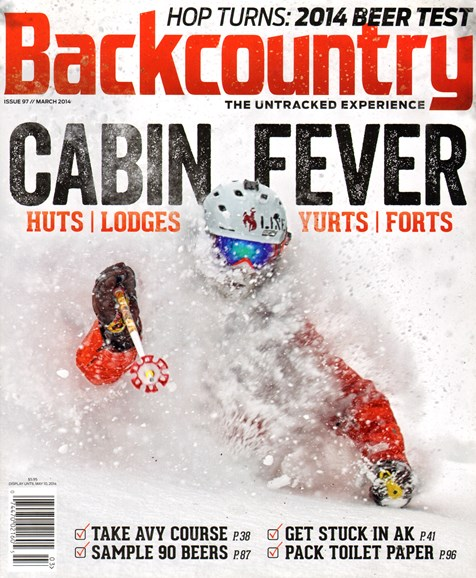 Backcountry Cover - 2/1/2014