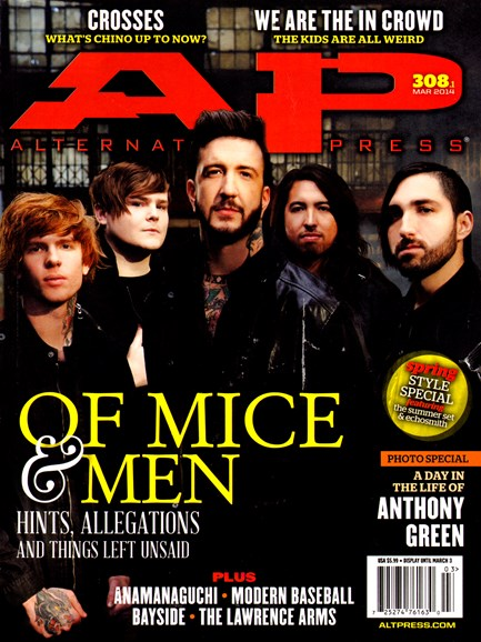 Alternative Press Cover - 3/1/2014