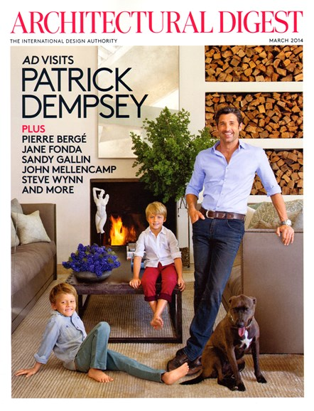 Architectural Digest Cover - 3/1/2014