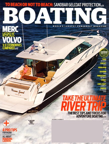 Boating Cover - 3/1/2014