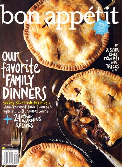Bon Appétit Cover - 3/1/2014