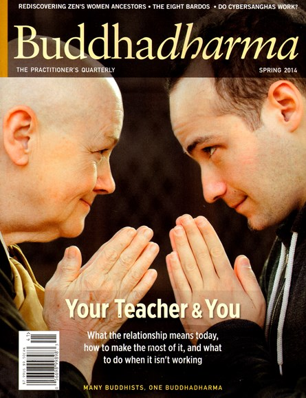BUDDHADHARMA: THE PRACTIONER'S QUARTERLY Cover - 3/1/2014