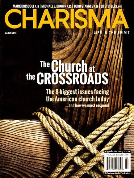 Charisma Cover - 3/1/2014
