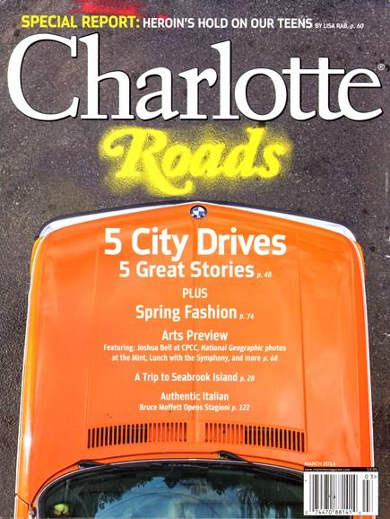 Charlotte Magazine Cover - 3/1/2014