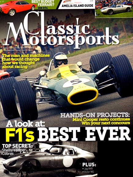 Classic Motorsports Cover - 3/1/2014