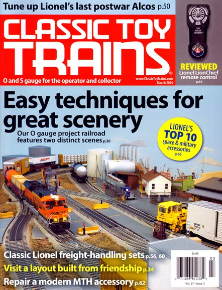Classic Toy Trains Cover - 3/1/2014