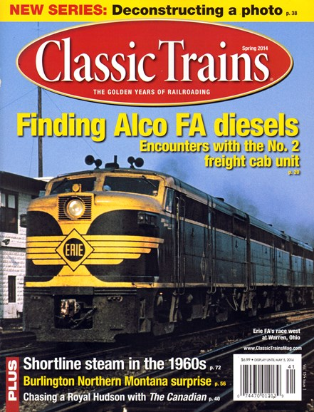 Classic Trains Cover - 3/1/2014