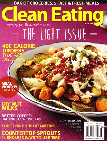 Clean Eating Cover - 3/1/2014