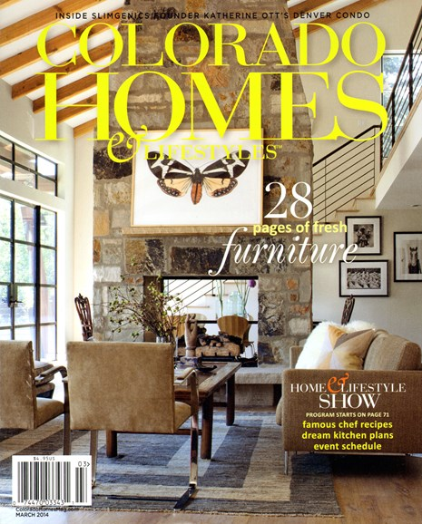 Colorado Homes & Lifestyles Cover - 3/1/2014