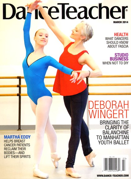 Dance Teacher Cover - 3/1/2014