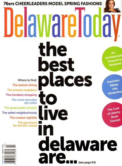 Delaware Today Cover - 3/1/2014