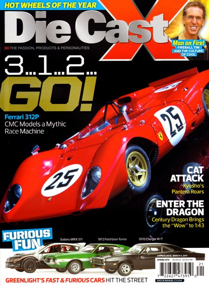 Diecast X Cover - 3/1/2014