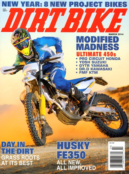 Dirt Bike Cover - 3/1/2014