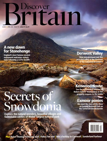 Discover Britain Cover - 3/1/2014
