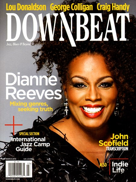 DownBeat Cover - 3/1/2014