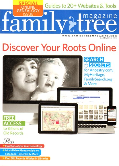 Family Tree Cover - 3/1/2014