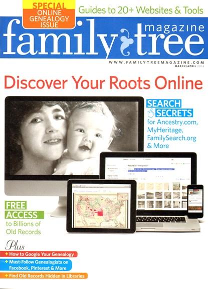 Family Tree Cover - 3/1/2014