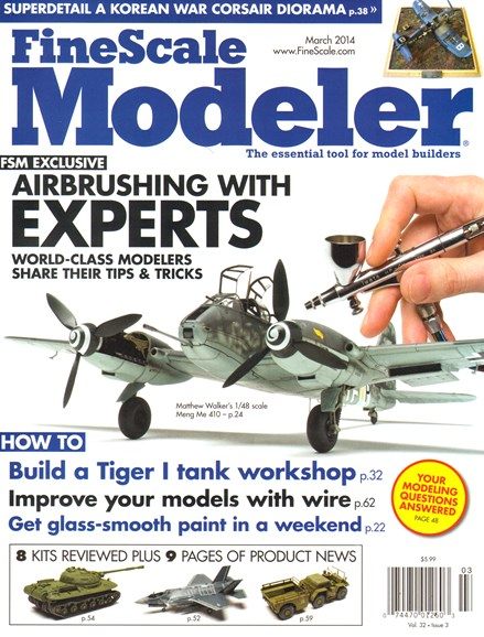 Finescale Modeler Cover - 3/1/2014