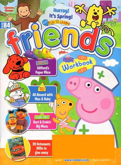 Preschool Friends Cover - 3/1/2014