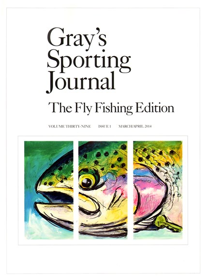 Gray's Sporting Journal Cover - 3/1/2014