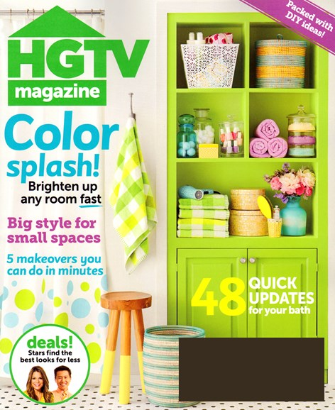 HGTV Cover - 3/1/2014