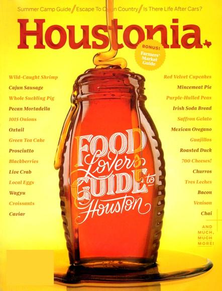 Houstonia Cover - 3/1/2014
