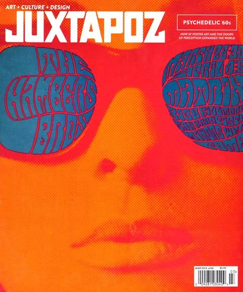 Juxtapoz Cover - 3/1/2014