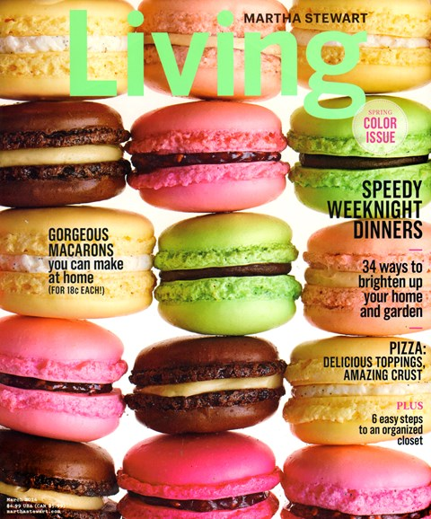 Martha Stewart Living Cover - 3/1/2014