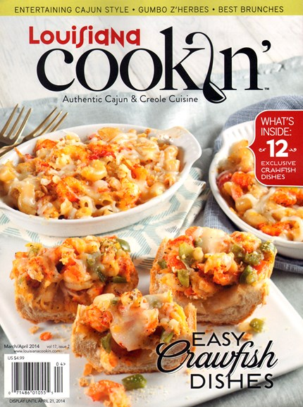 Louisiana Cookin' Cover - 3/1/2014