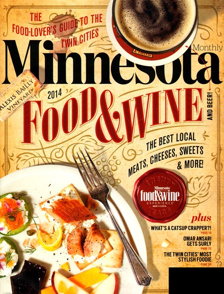 Minnesota Monthly Cover - 3/1/2014