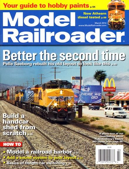 Model Railroader Cover - 3/1/2014