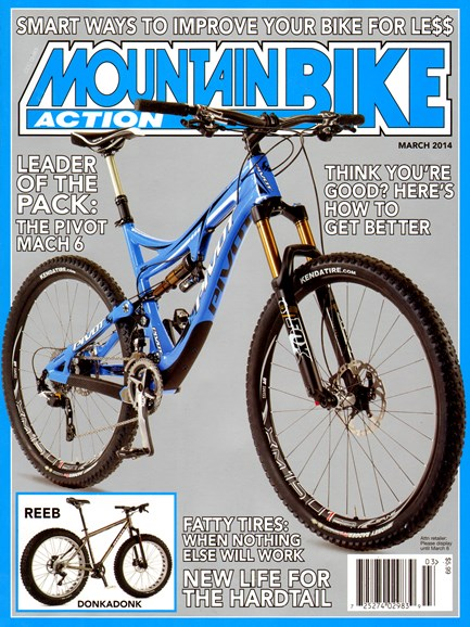 Mountain Bike Action Cover - 3/1/2014