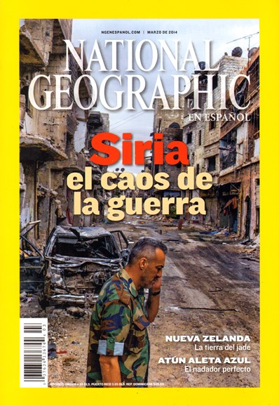 National Geographic En Español Cover - 3/1/2014