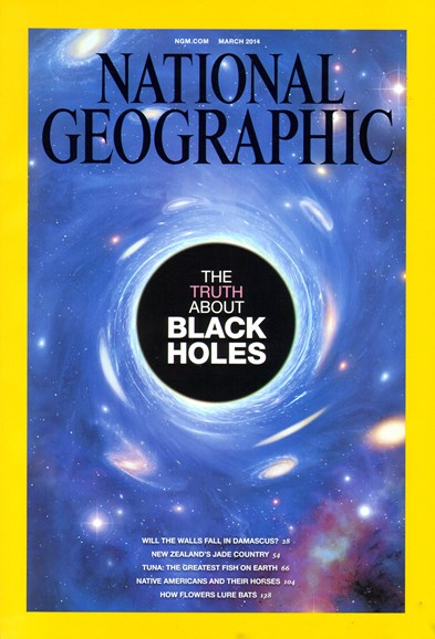 National Geographic Cover - 3/1/2014