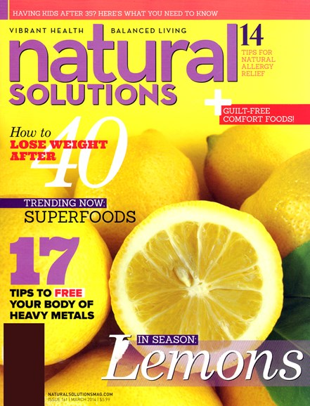 Natural Solutions Cover - 3/1/2014