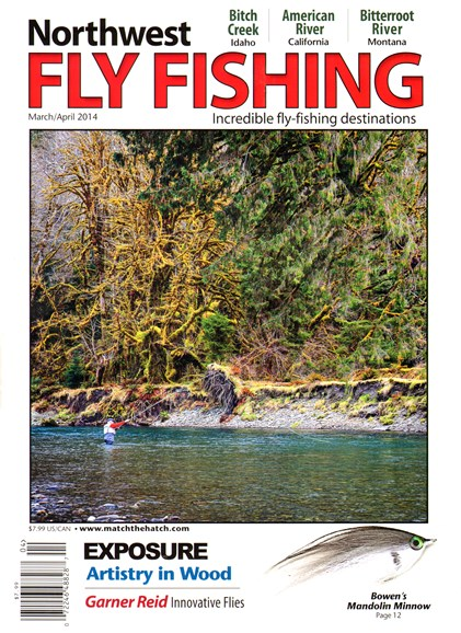 Northwest Fly Fishing Cover - 3/1/2014
