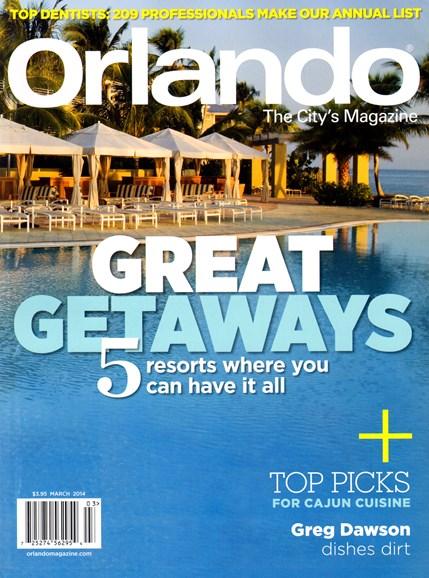 Orlando Magazine Cover - 3/1/2014