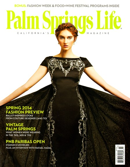Palm Springs Life Cover - 3/1/2014