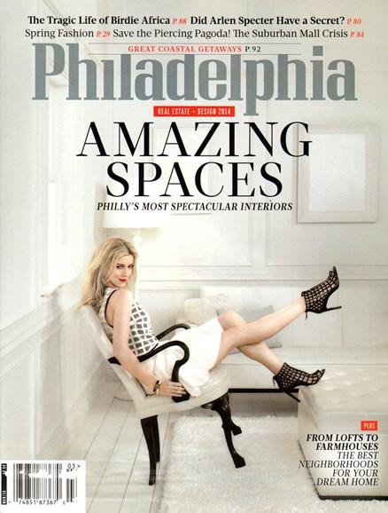 Philadelphia Magazine Cover - 3/1/2014