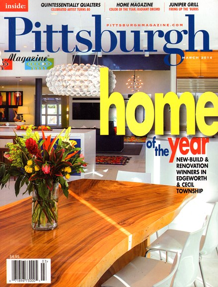 Pittsburgh Magazine Cover - 3/1/2014
