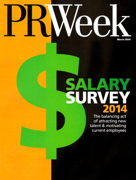 PRWeek Cover - 3/1/2014