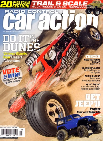 Radio Control Car Action Cover - 3/1/2014