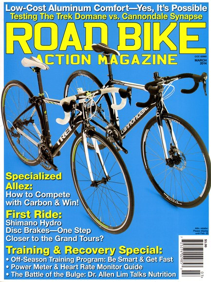 Road Bike Action Cover - 3/1/2014