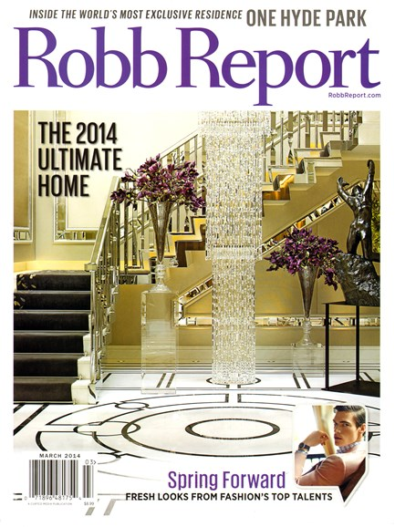 Robb Report Cover - 3/1/2014