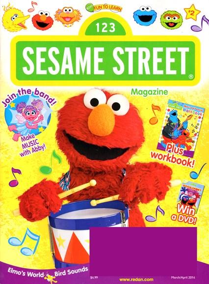 Sesame Street Cover - 3/1/2014