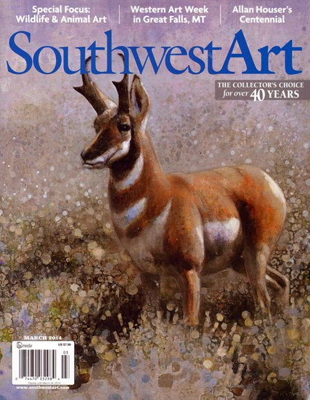 Southwest Art Cover - 3/1/2014