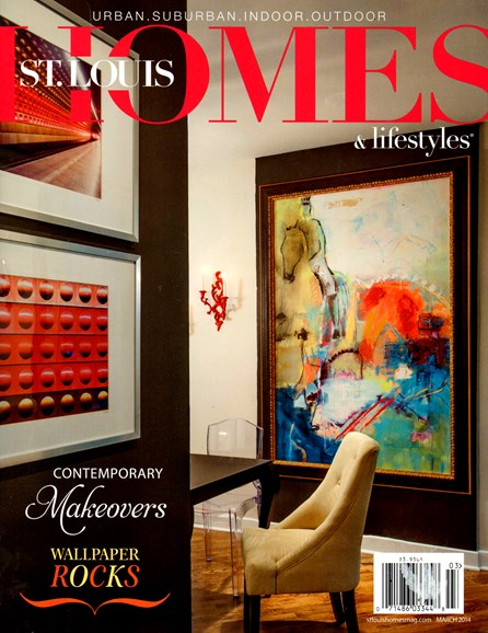 St. Louis Homes & Lifestyles Cover - 3/1/2014