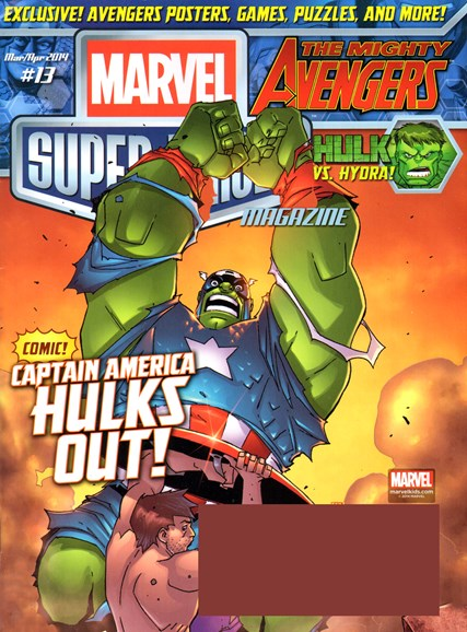 Marvel Super Heroes Cover - 3/1/2014