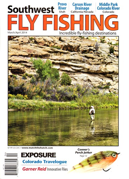 Southwest Fly Fishing Cover - 3/1/2014