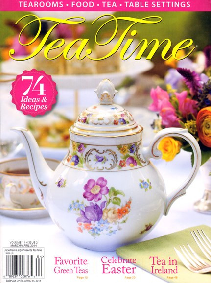 Tea Time Cover - 3/1/2014